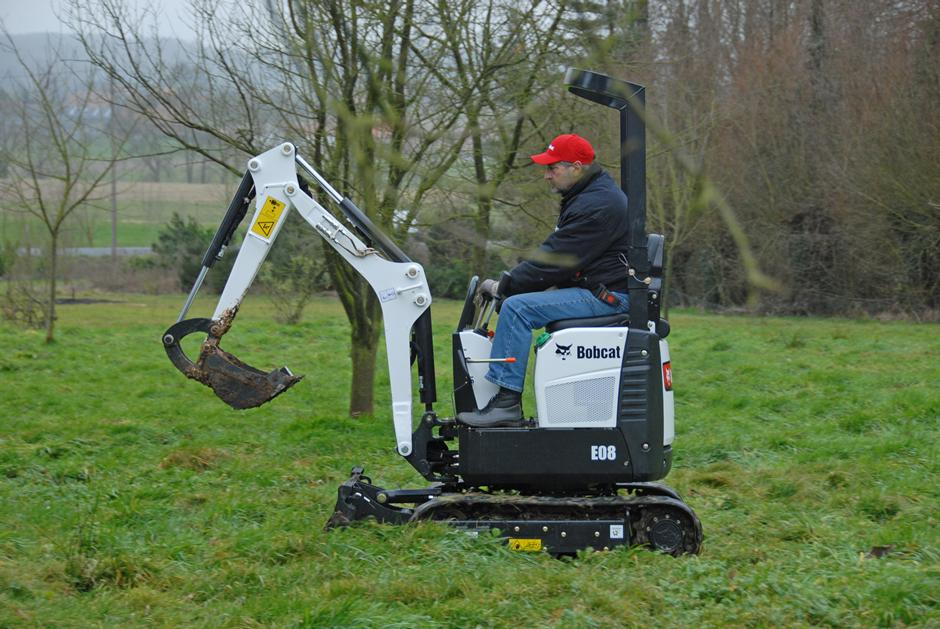 Purchase a Bobcat excavator from TVE Hire & Sales