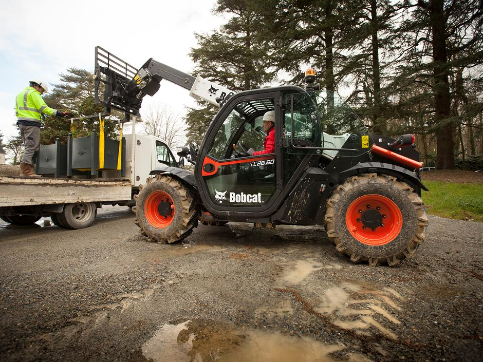 Purchase Bobcat Telehandlers from TVE Hire & Sales