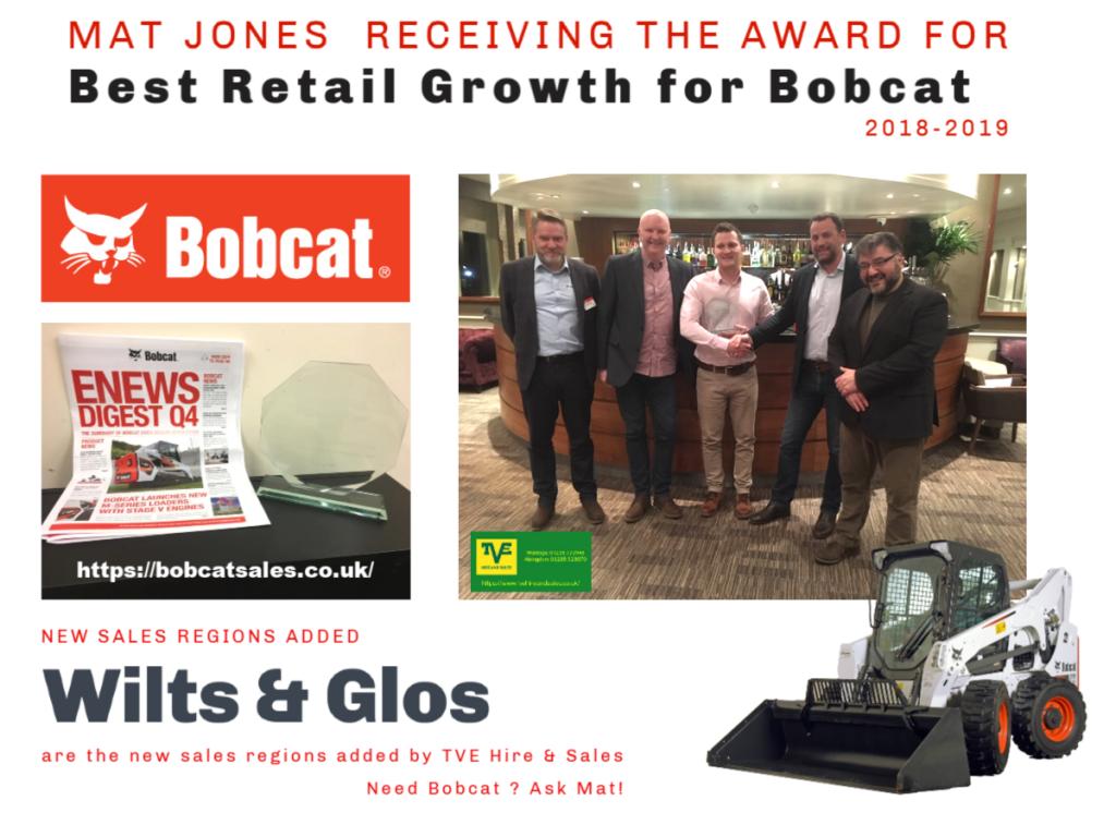 Bobcat offers award