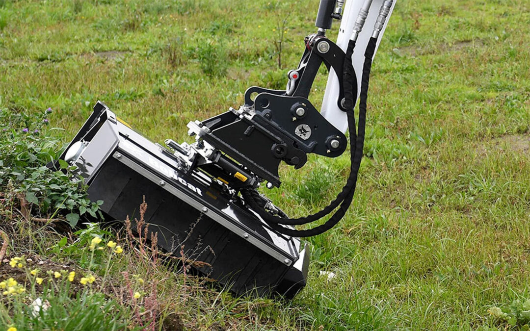 Bobcat Self-Levelling Flail Mower
