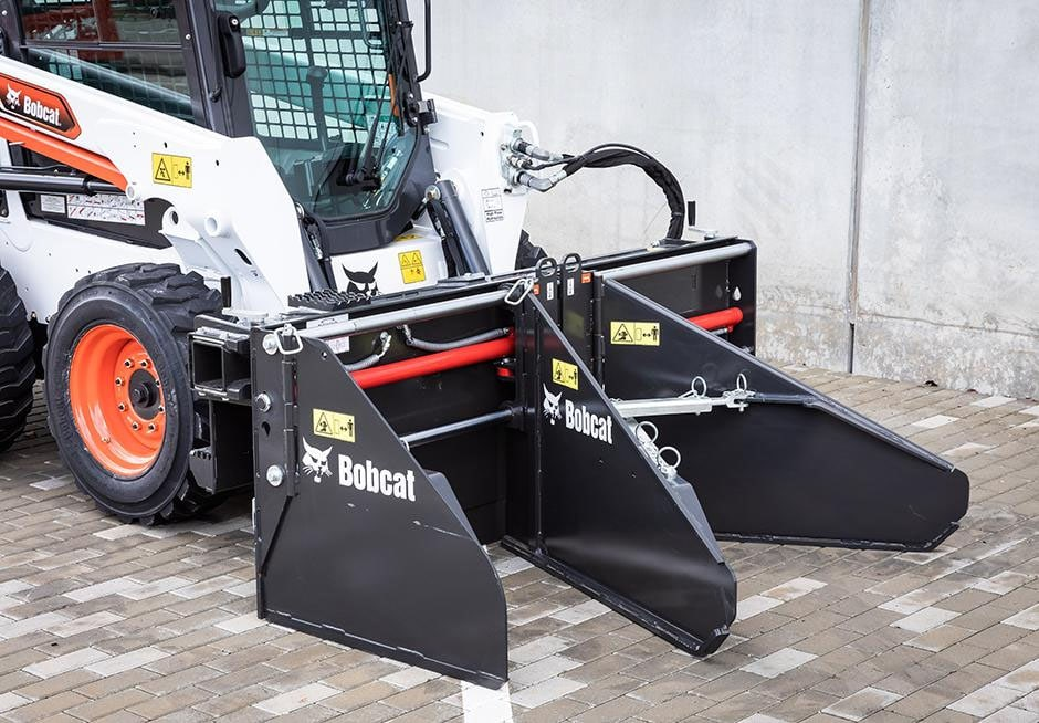Bobcat's all new Soil and Asphalt Spreader attachment