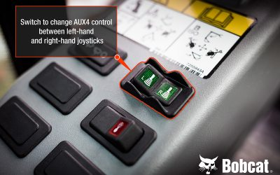 Bobcat Advanced Selectable Auxiliary Control System for Mini-Excavators Wins Samoter 2020 Innovation Award