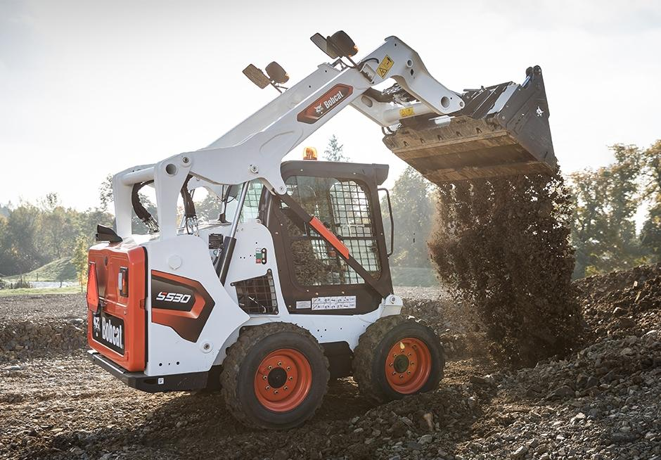 All new stage V Bobcat Skidsteer Loaders