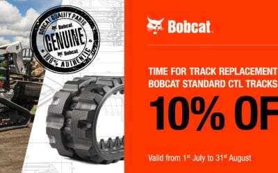 BOBCAT Track replacement – special offer