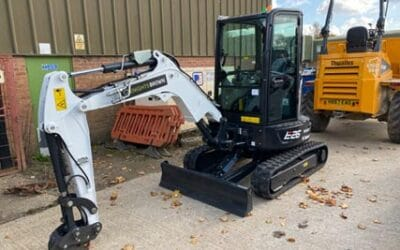 Knights brown Construction Ltd add Bobcat Machinery to their Machinery Fleet
