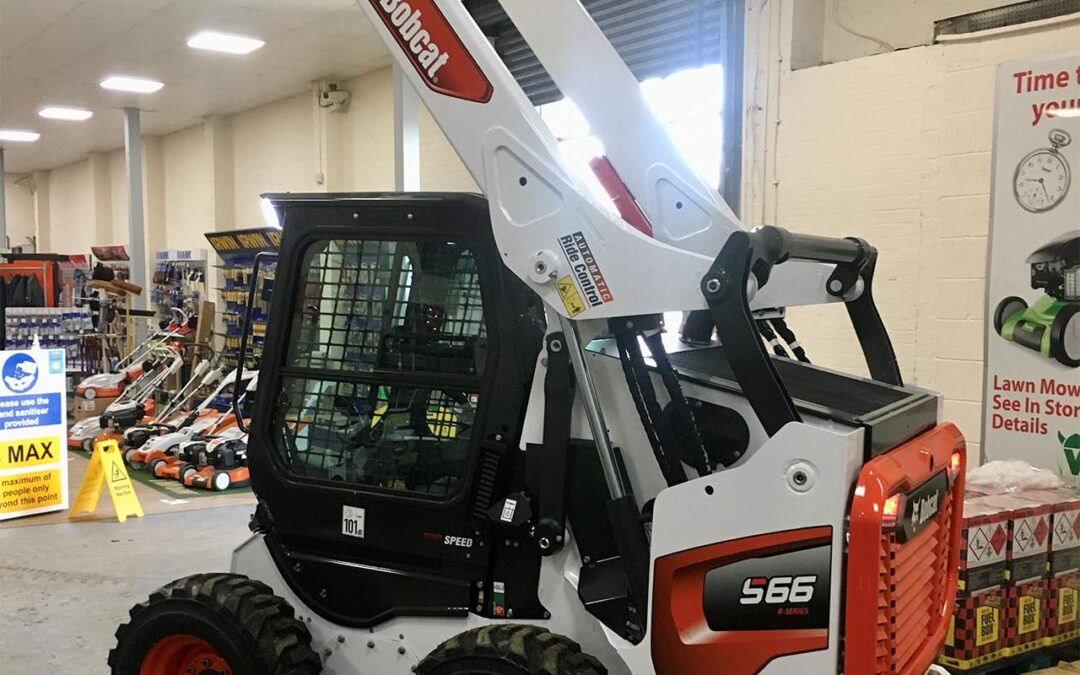 Just arrived the all new Bobcat S66